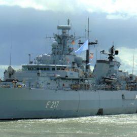 Fregatte BAYERN läuft in den Indopazifik aus